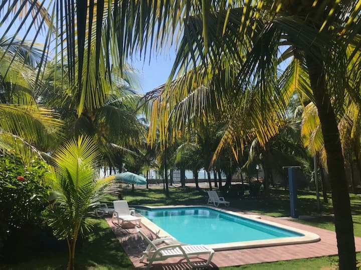 BRAND NEW **BEACH FRONT HOUSE** WITH PRIVATE POOL