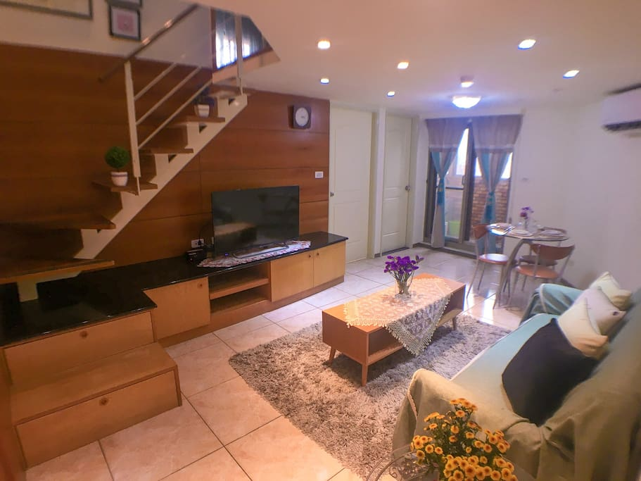 Spacious Living room 2F duplex house