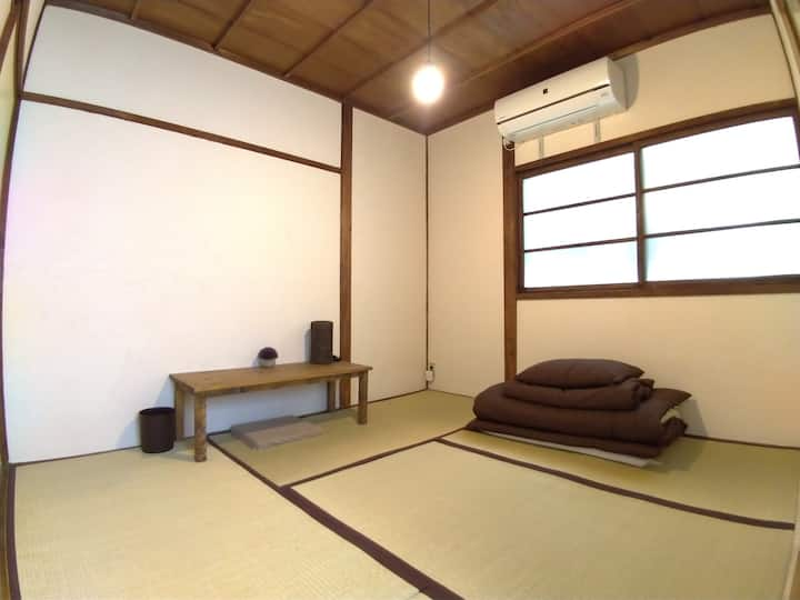 Japanese private Room-Bathroom, kitchen shared