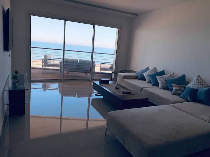 Appartement Corniche mahdia au bord de mer