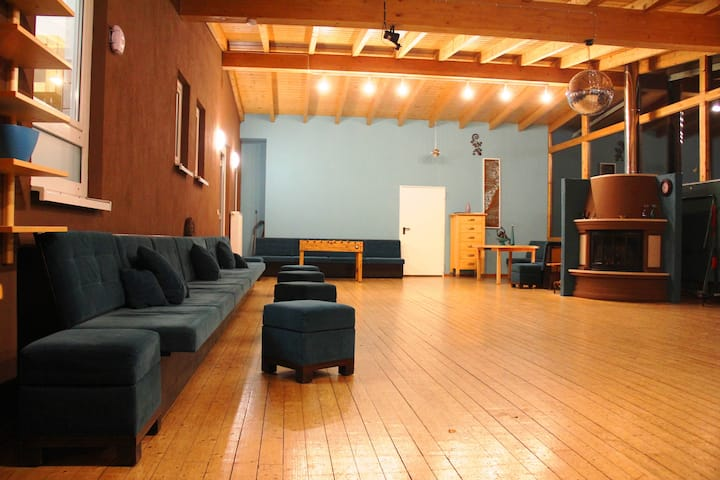 Ferienhaus EMG Mannheim Heidelberg für Gruppen