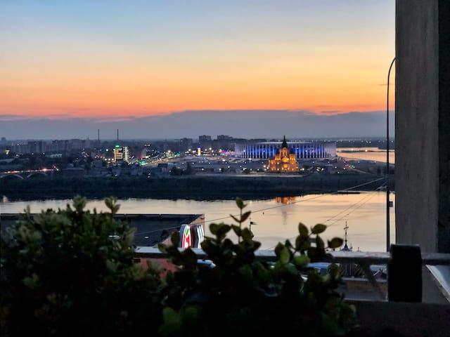 Уютные апартаменты на Набережной Федоровского