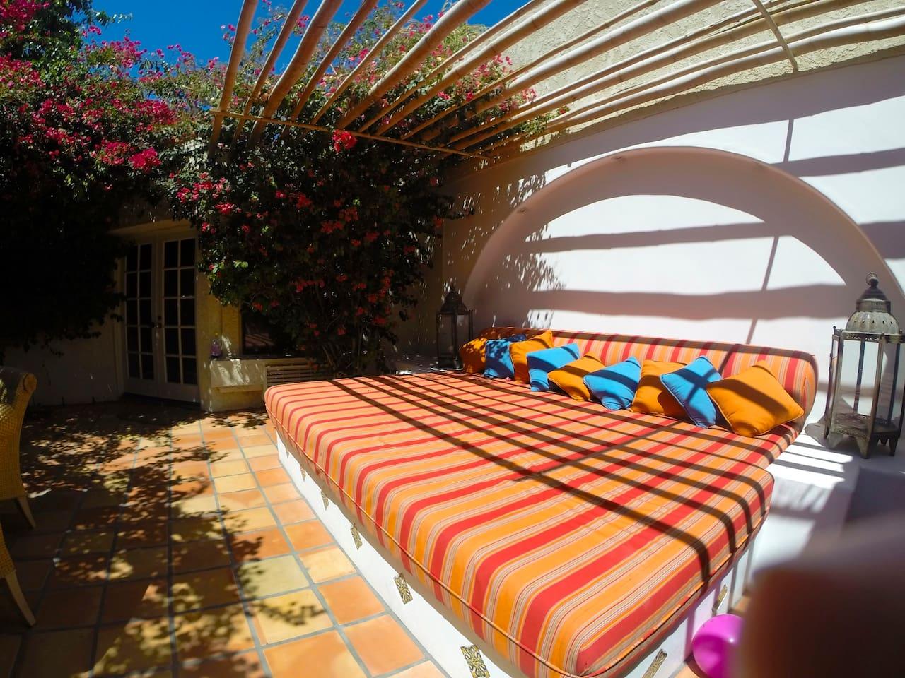 Interior Patio outdoor area