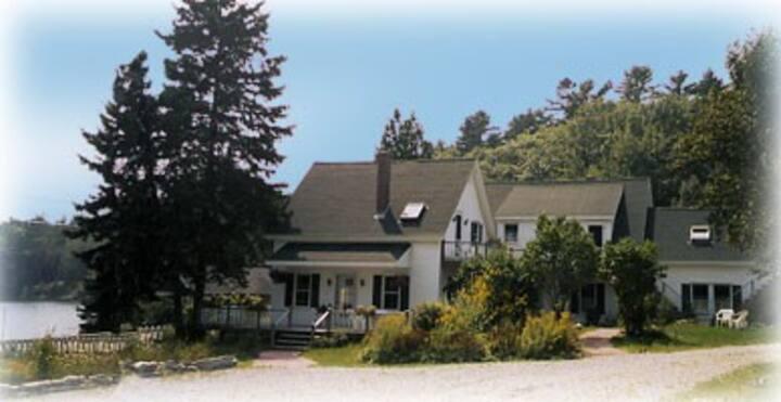 Coastal Maine Home with Apt # 2