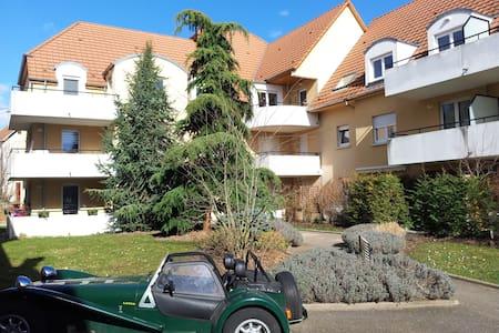 Voyager avec son bébé en Alsace  - Entzheim - Leilighet