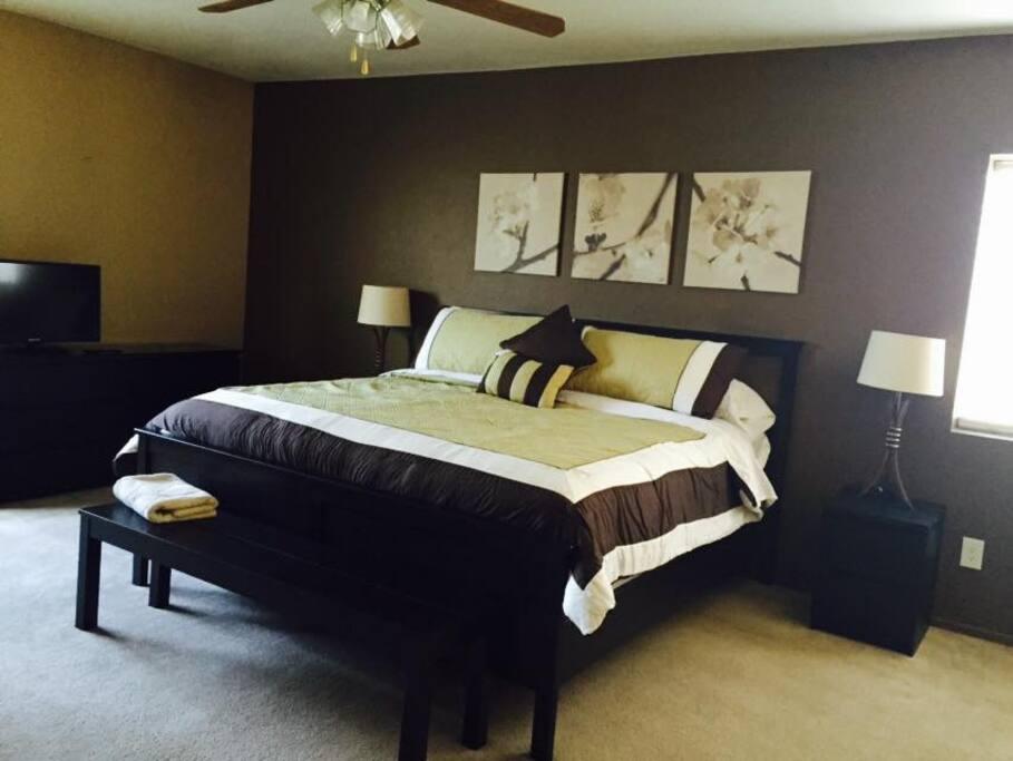 1 of 2 Master Bedroom
