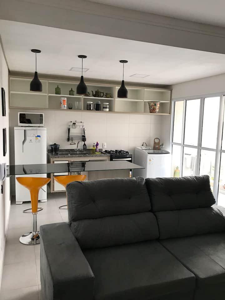 Apartamento confortável próximo Shopping Passeio