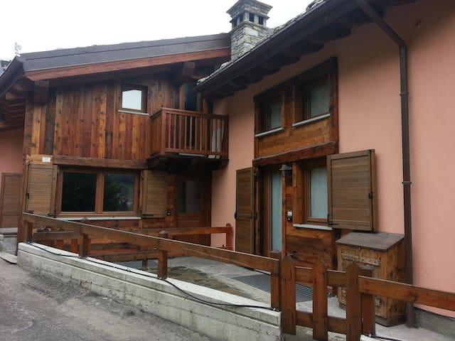 Accogliente appartamento a La Thuile - La Thuile - Leilighet