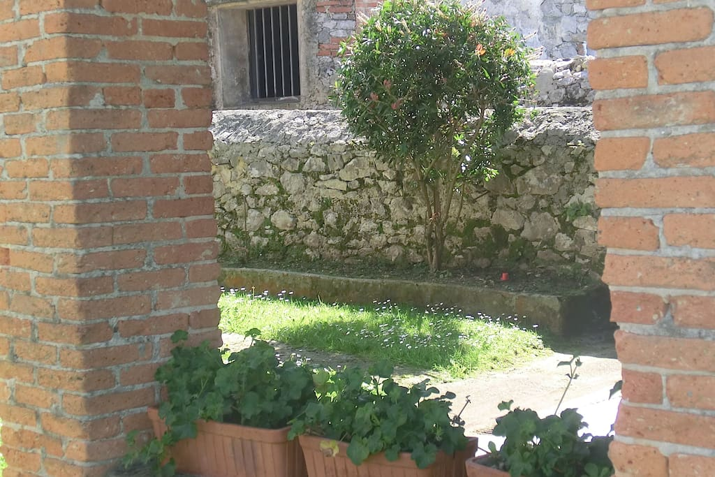 Huerta/Jardín con Barbacoa