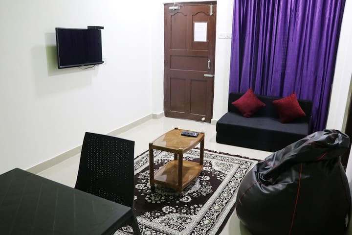 Super Deluxe Room with Private Living Room and Kitchen