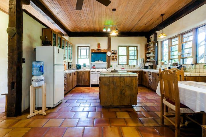 Serene, Large Farmhouse on Wildlife Reserve