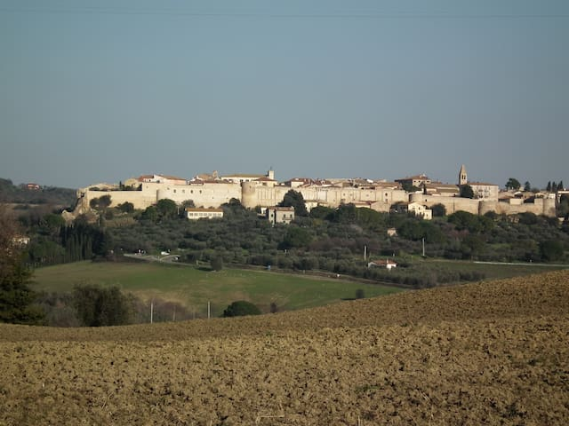 Tuscan get-away, panoramic views - Magliano In Toscana - Flat