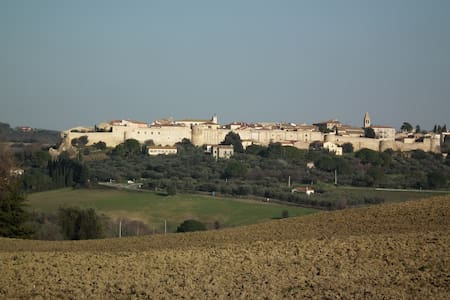 Tuscan get-away, panoramic views - Magliano In Toscana - Huoneisto