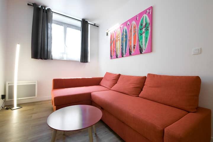 Appartement 33 m2 face à  l'hotel Sofitel Miramar