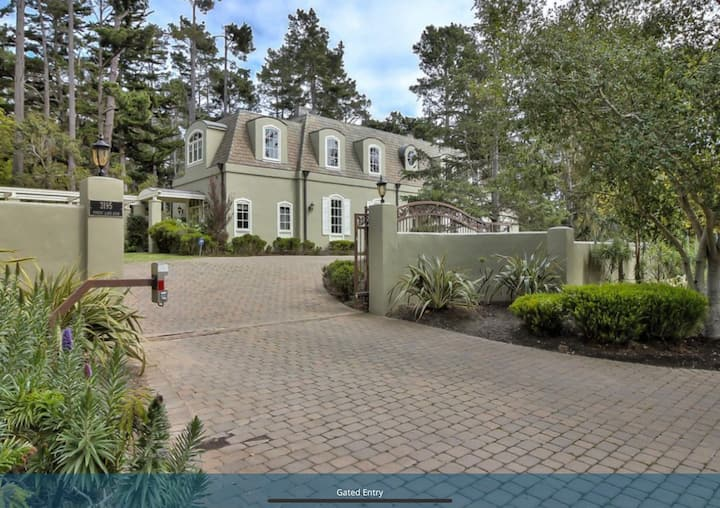 Classic Chateau in the heart of Pebble Beach