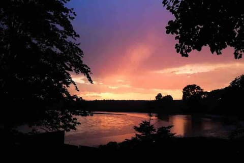 Sunshine on the river