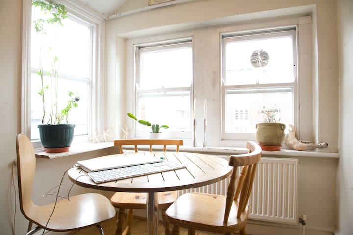 Airy flat in Clapton, east London