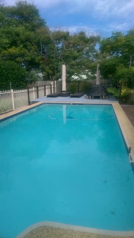 Guests are free to use our pool
