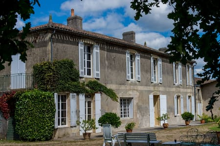 Grande Maison Calme proche Bordeaux - Langoiran