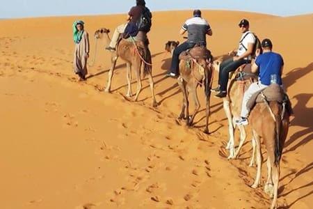 Camel Trek Bivouac Merzouga - Merzouga