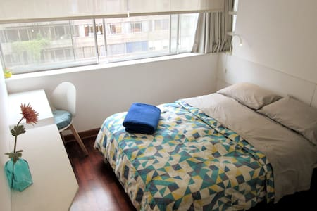 DOUBLE ROOM + BREAKFAST in MIRAFLORES DOWNTOWN