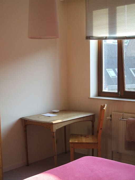 A quiet corner for work or study. Fast and free wi-fi.