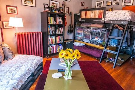 BU/BC Loaded Studio @ Comm/Harv Ave - Boston - Appartement