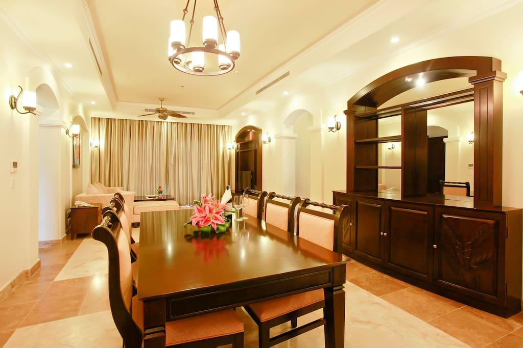 Convenient living room