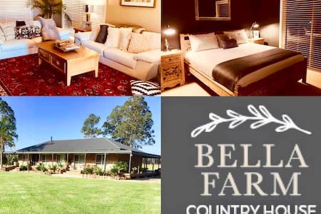 Bella Farmhouse with Jacuzzi & Firepit on 10 acres