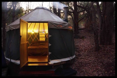 Little Creek Yurt ~ Bush Glamping Jarrahdale