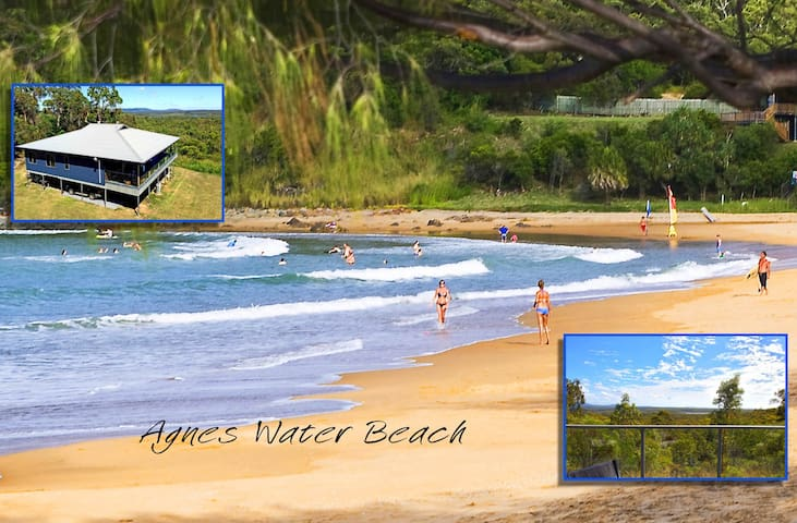 Bedroom to Beach - 5 minutes! - Agnes Water - Talo