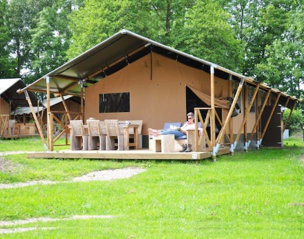 Glamping in Icheon 40min from Seoul - 이천시 - Tipi