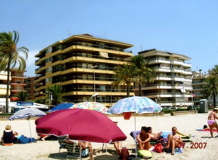 Apartamento 1ª linea de playa En Cunit