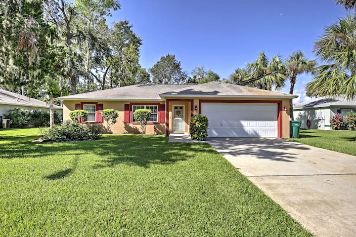 This gorgeous home is just minutes from Daytona Beach!