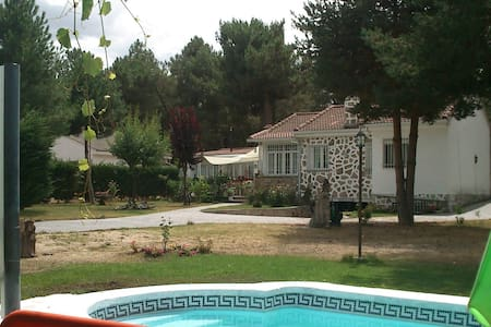 Casa rodeada de naturaleza antiestres. - Marugán