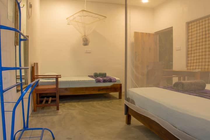 Spacious Triple Room at Eagle Resort Arugam Bay