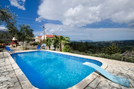 Villa Paradise . Apartment 1. - vafes Chania