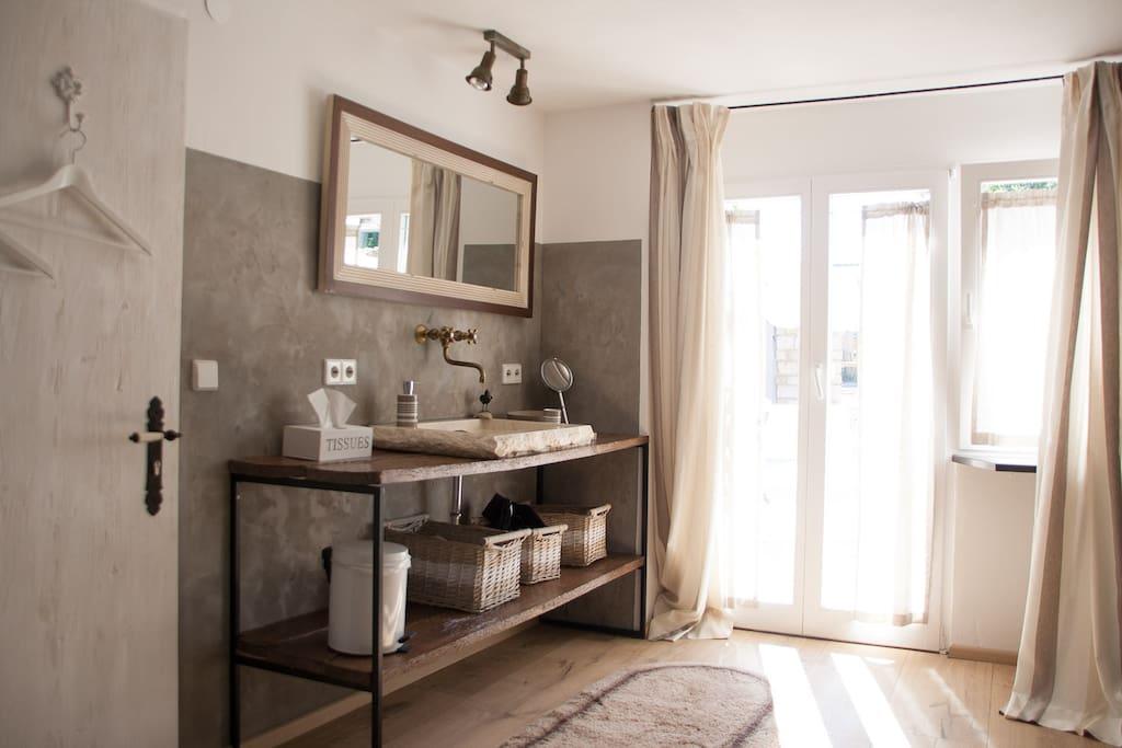 Badezimmer - Gartenzimmer
