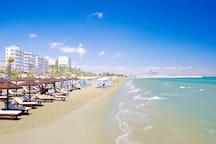 The beautiful relaxing mackenzy beach