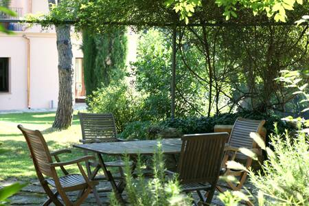 Lovely garden views apartment, pool - Assisi - Apartment