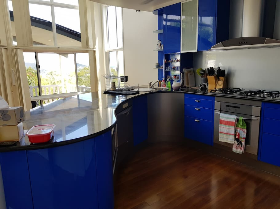 Shared kitchen. Tea and coffee facilities