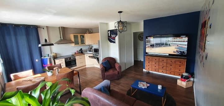 Appartement T3 de 60m² complètement refait à neuf