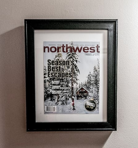Otter Chalet was featured on Northwest Magazine