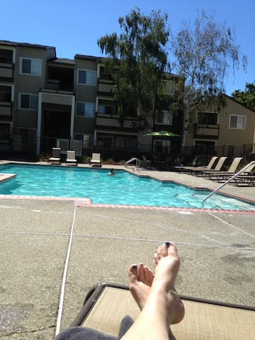 Peaceful Suburb, easy Bart ride to San Francisco. - Walnut Creek - Apartament