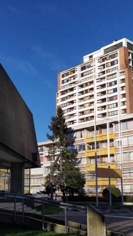 Increíble Habitación Barrio Universitario CONCE!