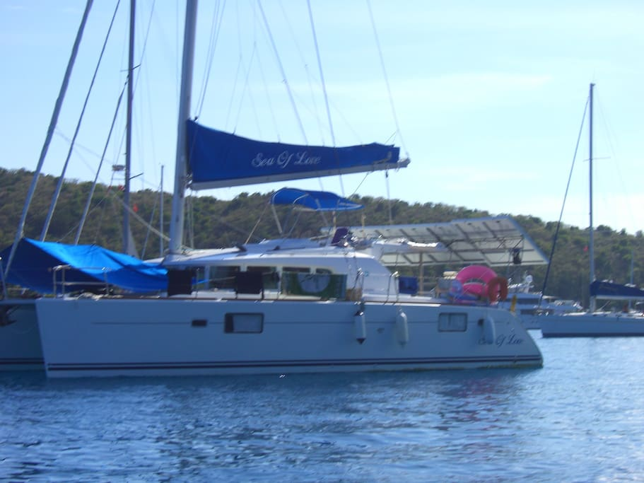 Beautiful Luxury Catamaran Sea Of Love
