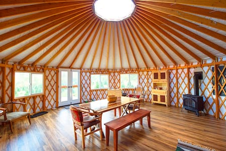 The Yurt at Tuckaway Tree Farm