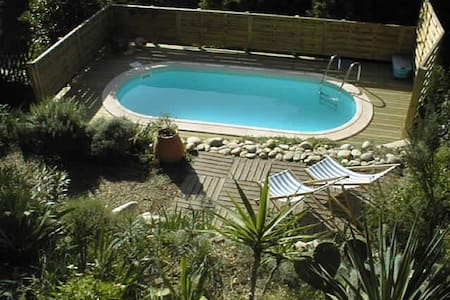 Maison de village avec piscine - Laurens - House