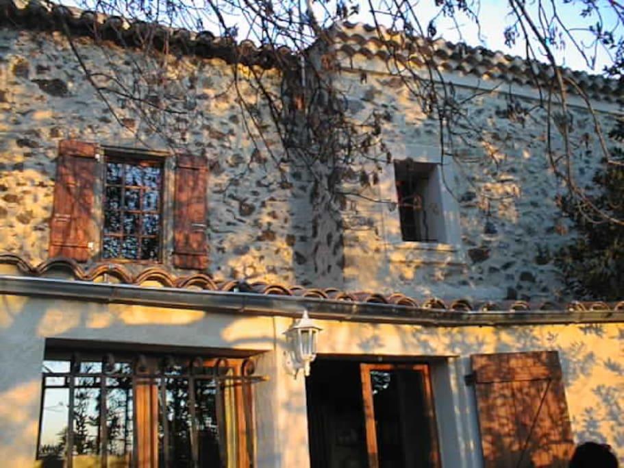 Maison du 18ème siècle restaurée