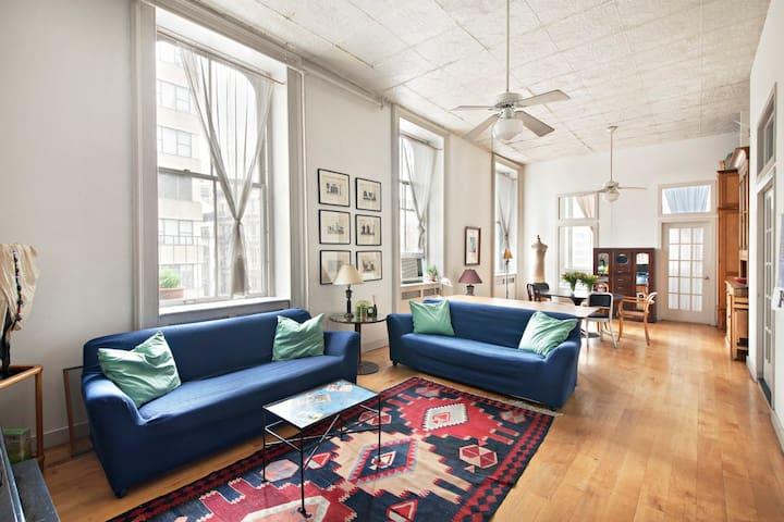 TRIBECA LOFT ROOM WITH AMAZING VIEW - Nueva York - Loft